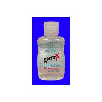 Germ X Germ-X Hand Sanitizer 1.5 oz. Flip Top PACK OF 10