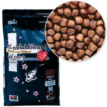 Saki-Hikari 4.4-Pound Growth Formula Floating Pellets for Pets, Medium