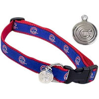 Sporty K9 Dog Collar - Chicago Cubs