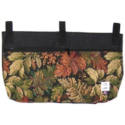 Handi-pockets Handi Pockets 2c7hl Storage Accessory Walker, Tapestry, Heirloom with Zipper and Flap