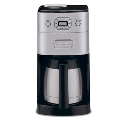 Refurbished Cuisinart DGB-650BC Grind-and-Brew Thermal 10-Cup Automatic Coffeemaker, Brushed