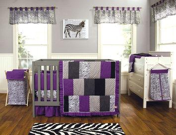 Test Trend Lab Grape Expectations - 3 Piece Crib Bedding Set