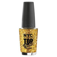 NYC Color Cosmetics NYC In a NY Color Minute Nail Top Coat - Top Of Gold