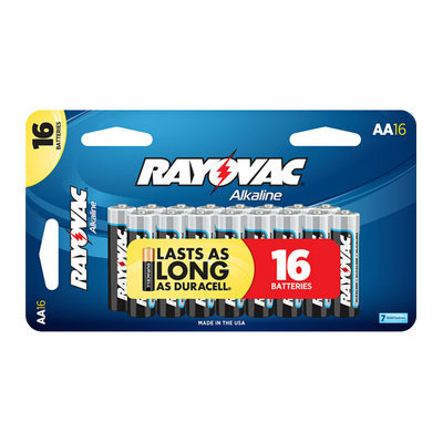 Rayovac Alkaline Value Pack AA Batteries