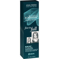 BRILLIANT BRUNETTE John Frieda Luxurious Volume Blow Out Styling Spray