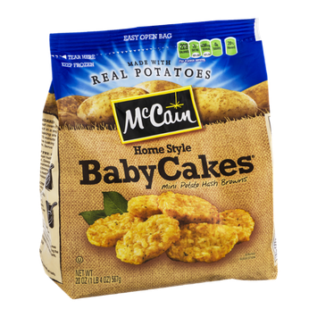 McCain Home Style Baby Cakes Mini Potato Hash Browns
