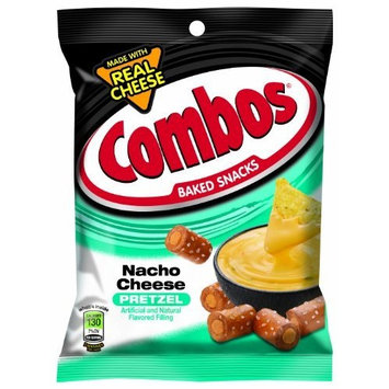 Combos Nacho Cheese Pretzel 6.3oz Bag (Pack of 12)