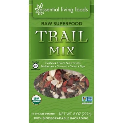 Essential Living Foods Superfood Trail Mix 8 oz - Vegan