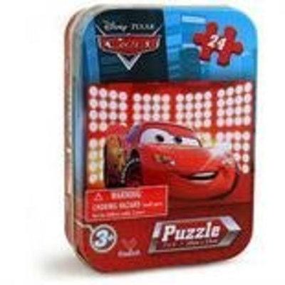 Disneys Pixar Cars 24 Piece Puzzle in Tin 7 x 5