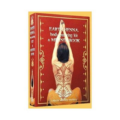 Earth Henna Book & Body Painting Kit - 1 ea