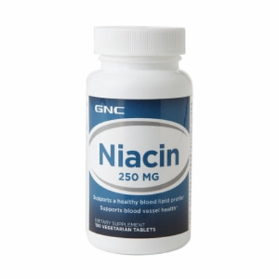 GNC Niacin 250mg, Tablets, 100 ea