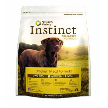 Instinct Grain Free Instinct Grain-Free Chicken Meal Dry Dog Food by Nature's Variety, 4.4-Pound Package
