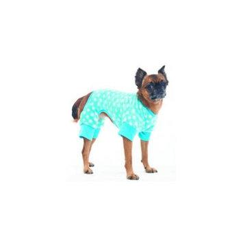 Ethical Pet Products Ethical Cozy Fleece Sleeper Dog Pajamas Small Blue 200134