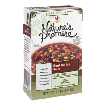 Nature's Promise Naturals Beef Barley Soup