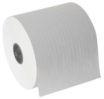 TOUGH GUY 39E961 Paper Towel Roll, White, PK3