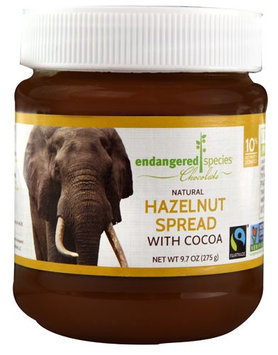 Endangered Species Chocolate Natural Hazelnut Spread with Cocoa 9.7 oz - Vegan