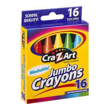 Cra-Z-Art Jumbo Crayons - 16 CT