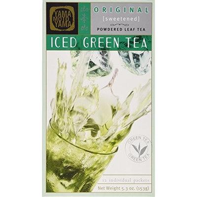Yamamotoyama Iced Green Tea, Sweetened, 5.3-Ounce Boxes (Pack of 4)