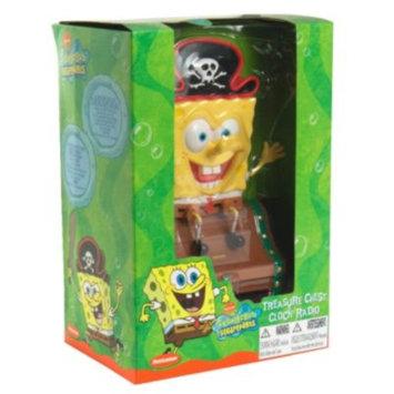 Emerson Treasure Chest Clock Radio, SpongeBob Squarepants, 1 clock radio