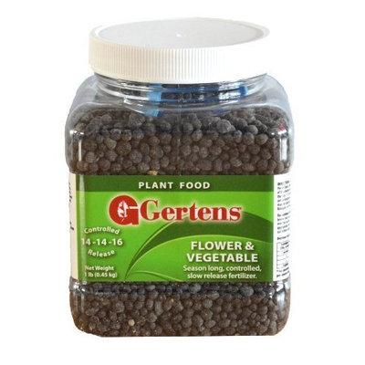 Gertens 10 lbs Flower & Vegetable Fertilizer 14-14-16 [10 lbs]