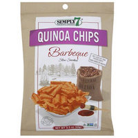 Simply 7 Barbeque Quinoa Chips, 3.5 oz, (Pack of 12)