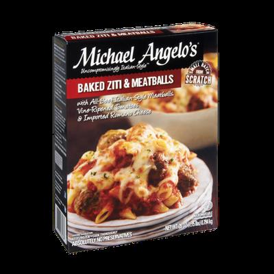 Michael Angelo's Baked Ziti & Meatballs Frozen Entree