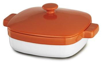 KitchenAid 2.8 Quart Streamline Ceramic Casserole Dish - Persimmon