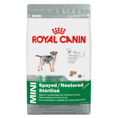 Royal CaninA MINI Spayed/Neutered Dog Food