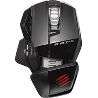 Mad Catz MADCATZ MCB4371000C2/04/1 MAD CATZ R.A.T. M WIRELESS MOBILE GAMING MOUSE (GLOSS BLACK)