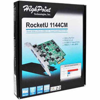HPT USA/Highpoint Tech HighPoint 4-Port USB 3.0 PCI-Express 2.0 x4 Raid HBA