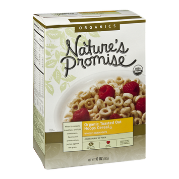 Nature's Promise Organics Organic Toasted Oat Hoops Cereal