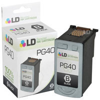 LD Canon PG40 Pigment Black Remanufactured Inkjet Cartridge
