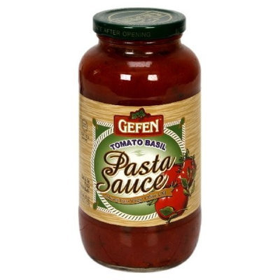Gefen Pasta Sauce with Tomato Basil, 26-Ounce, (Pack of 6)