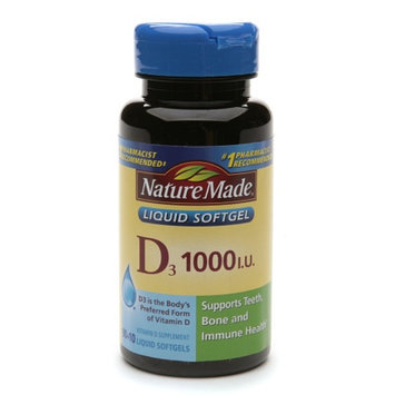 Nature Made Vitamin D3 1000 IU