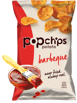 popchips Barbeque Potato Popped Chips