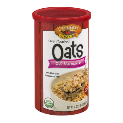 Country Choice Organic Oven Toasted Oats Old Fashioned