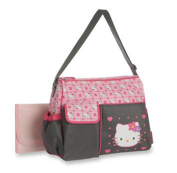 Hello Kitty Diaper Bag & Changing Pad - STEVENS BABY BOOM LTD.