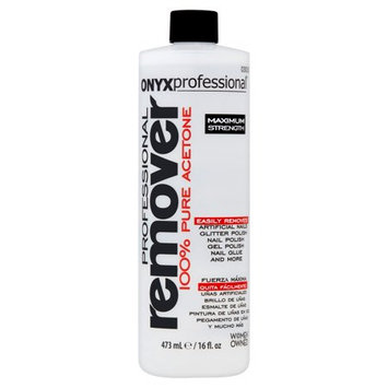 ONYX Professional 100% Pure Acetone Nail Polish Remover