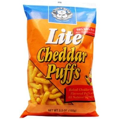 Little Bear Cheddar Puffs, Lite, 5.5 Ounce (Pack of 12)