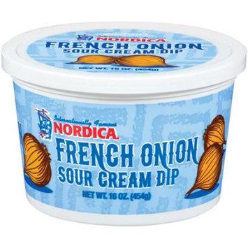 Sinton Dairy Foods Company Nordica French Onion Sour Cream Dip, 16 oz