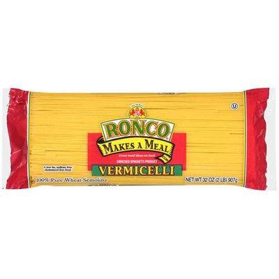 Ronco: Vermicelli Enriched Spaghetti Product Pasta, 32 Oz