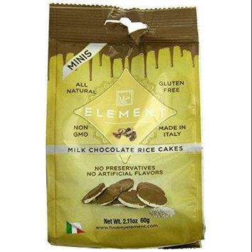 Element Milk Chocolate Rice Cakes Minis 2.11 oz