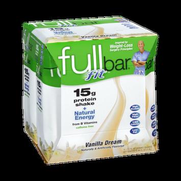 Fullbar Fit Vanilla Dream Protein Shake - 4 CT