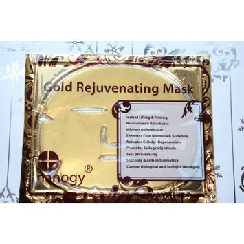 Rh8 Jamela Luxurious 24k Crystal Gold Facial Mask (5 PCs/Box) by Rastsvet Inc.