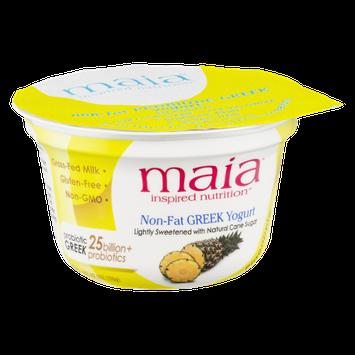 Maia Inspired Nutrition Non-Fat Greek Yogurt Pineapple