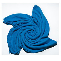 Austin Tie Dye Co Bamboo Swaddle Blanket for Babies - Blueberry