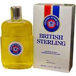 British Sterling By Dana After Shave Cologne 5.7 Oz