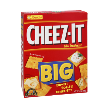 Cheez-It® Big 100% Real Cheese Baked Snack Crackers