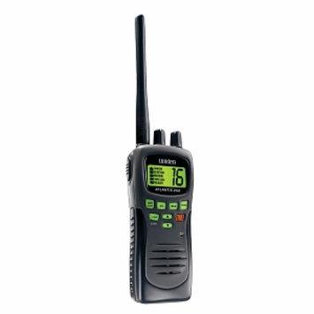 Uniden Atlantis 250-bk Handheld Vhf 2-way Marine Radio, 1 ea