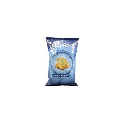 Arico Cassava CrispRoot Ridged Cassava Root Chips Sea Salt -- 5 oz